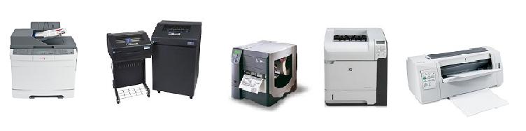 Imprimantes Catalogues